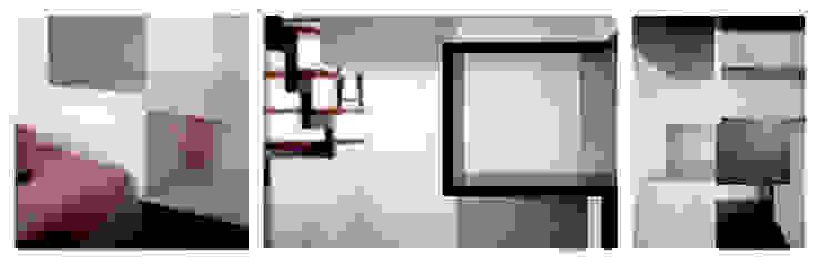 Twin Waves: dettagli di BRENSO Architecture & Design Moderno