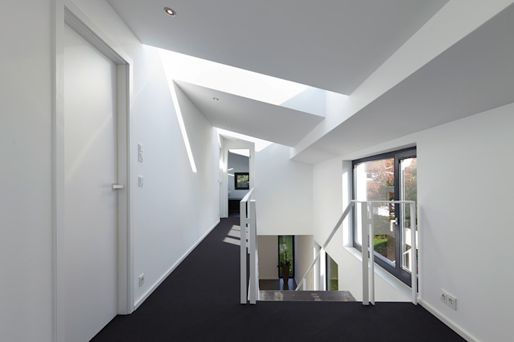 Obergeschoss Moderne Häuser von pier7 architekten gmbh Modern