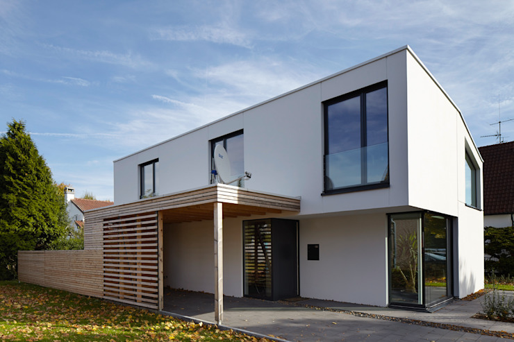 Modern houses by pier7 architekten gmbh Modern