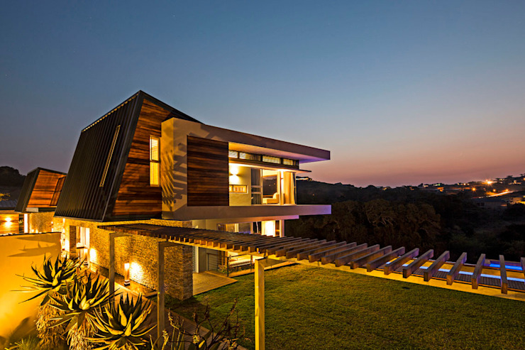 Albizia House Modern houses by Metropole Architects - South Africa Modern