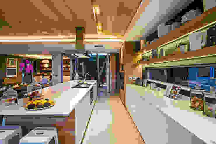 Albizia House Modern kitchen by Metropole Architects - South Africa Modern