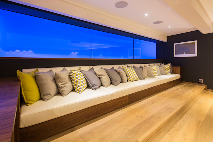 Albizia House Modern media room by Metropole Architects - South Africa Modern