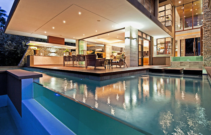 SGNW House Modern pool by Metropole Architects - South Africa Modern