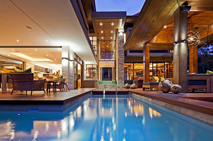 SGNW House Piscine moderne par Metropole Architects - South Africa Moderne