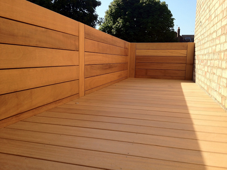 Contemporary screening , fencing & wall panels Modern garden by Paul Newman Landscapes Modern