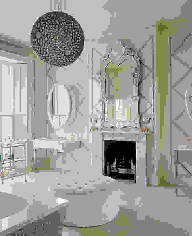 London Townhouse & Mews Bathroom by Alidad Ltd & Studio Alidad