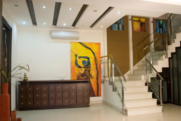 random residences Modern style bedroom by kalakshetra designs Modern