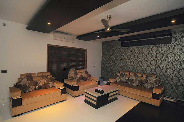 Living Room: asian  by Livings, Asian