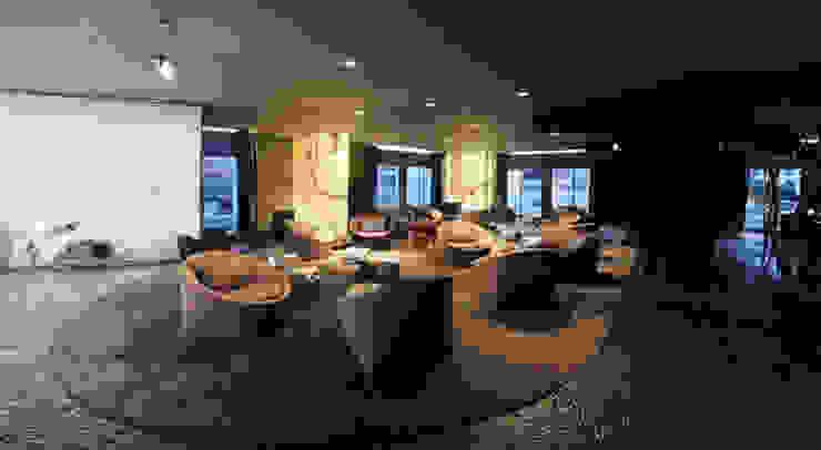TERRA Lounge Hotéis modernos por Larforma Moderno