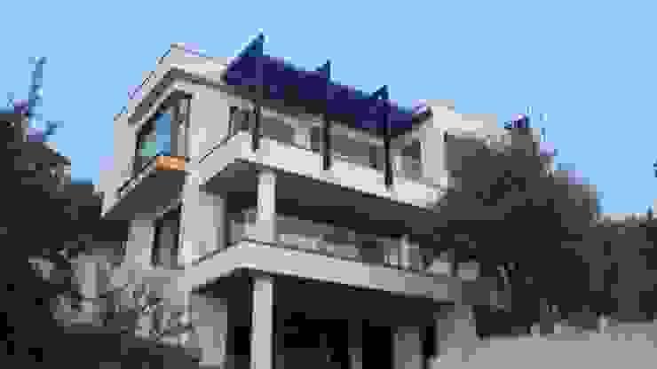 villa gök Modern Evler guntacharman Modern