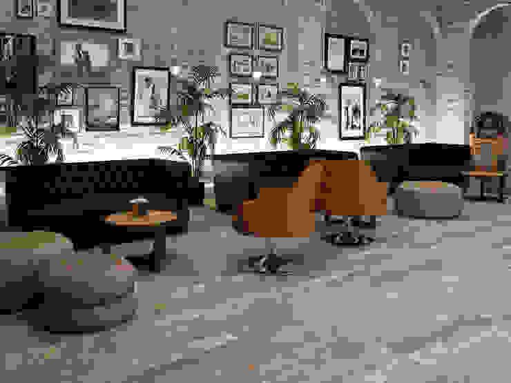 Ambiente cerámico Salones de estilo clásico de abcreativos Clásico