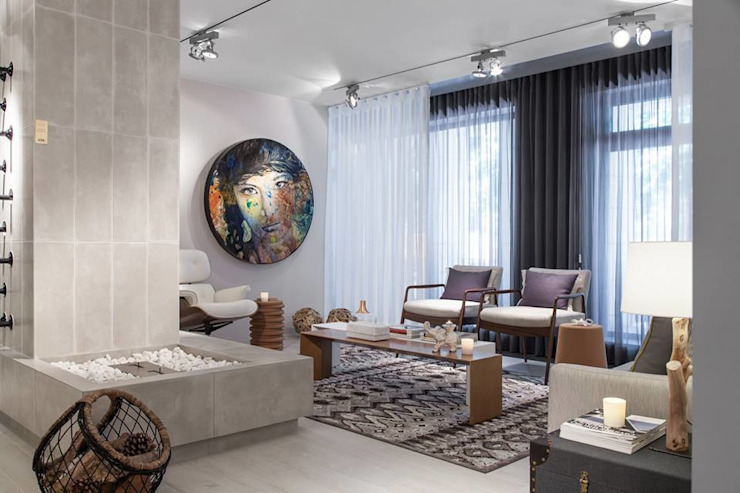 Eclectic style living room by Ana Rita Soares- Design de Interiores Eclectic