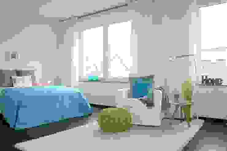 Schlafzimmer nach dem Staging Mediterrane Schlafzimmer von raumwerte Home Staging Mediterran