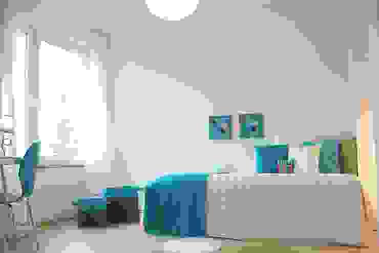 Kinder-/Gästezimmer nach dem Staging Skandinavische Kinderzimmer von raumwerte Home Staging Skandinavisch