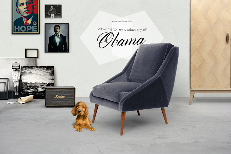 CHAIRS & ARMCHAIRS de Larforma Escandinavo