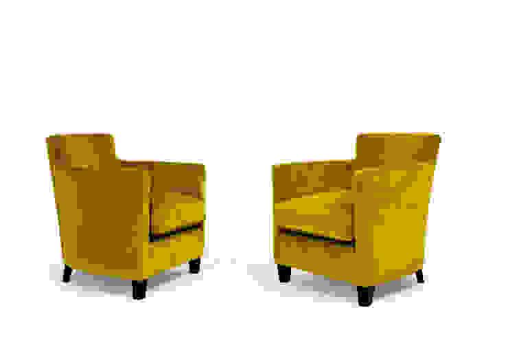 1930 Cabriolet Larforma 客廳沙發與扶手椅