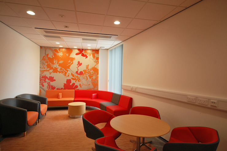 New Build, NHS Hospital - Emergency Department & Day Surgery Unit by Koubou Interiors