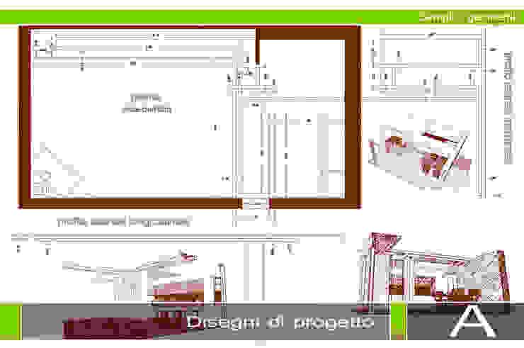 MINIMALISMO NEL MERCUEW Soggiorno minimalista di GIOIA Biagio ARCHITETTO Minimalista