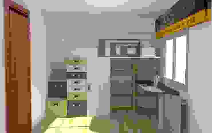 Nuria Dormitorios infantiles de estilo moderno de Mobles la Gavarra Moderno