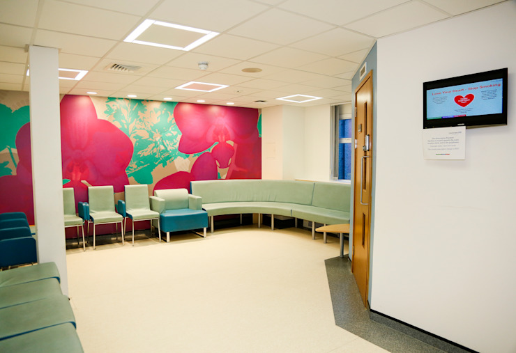 New Build, NHS Hospital—Emergency Department & Day Surgery Unit by Koubou Interiors