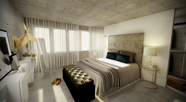 Bedroom by Santiago | Interior Design Studio , Industrial