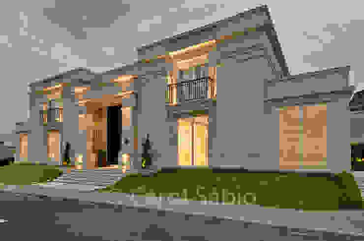 Fachada Casa Boulevard Casas clássicas por Arquitetare Clássico