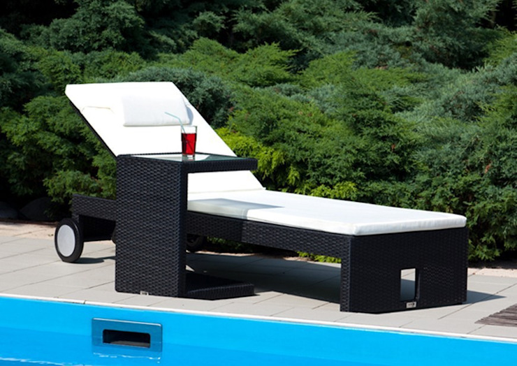 Julia Liege Modern Oltre-Garden Balkon, Veranda & TerrasseMöbel