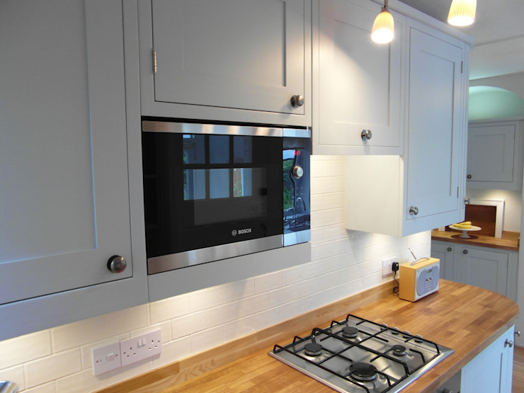 Bespoke, Painted Kitchen by Austin Matthews Design