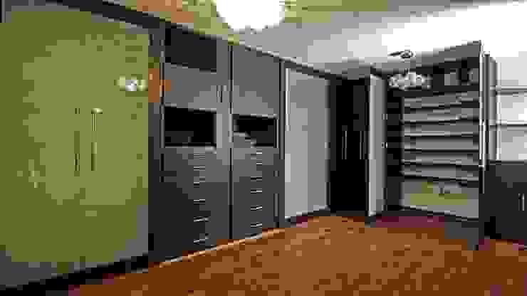 Vestidores de Vanguardia Closets & Vestidores Moderno