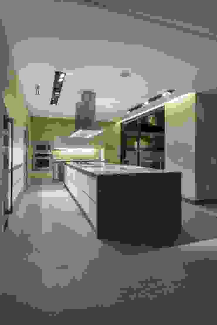 Cocina de Rhyzoma - Arquitectura y Diseño Moderno