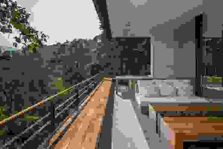 Terraza interior Rhyzoma - Arquitectura y Diseño