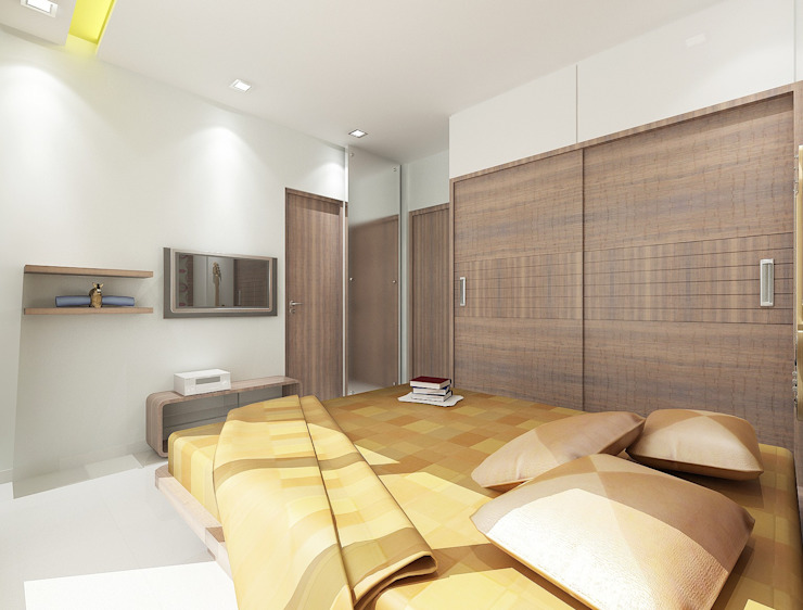 Children's bedroom Houses by Squaare Interior