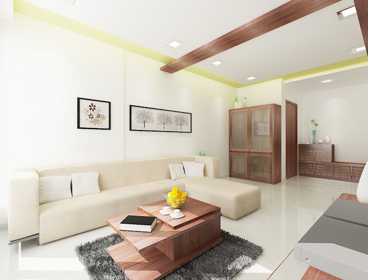 Living area Houses by Squaare Interior