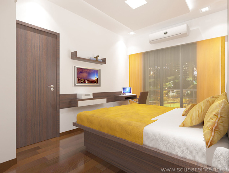 Bedroom House by Squaare Interior