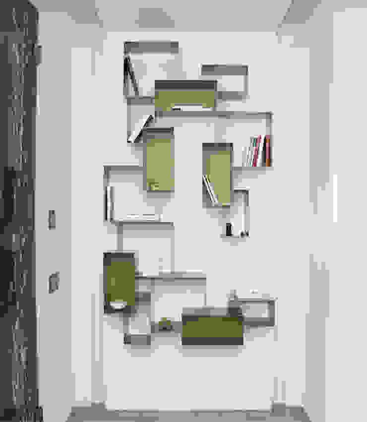 Ristrutturazione di un appartamento Ingresso, Corridoio & Scale in stile moderno di Geom. Stefano Feliziani Moderno