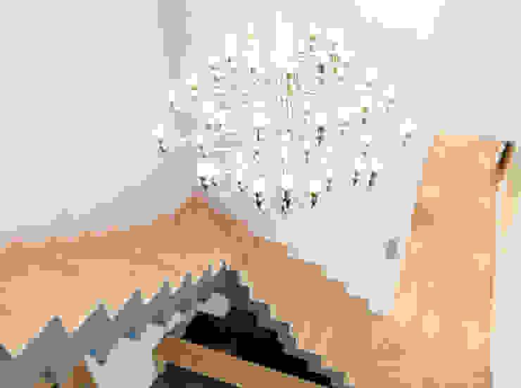 Maison à Pouilly Le Monial Salon moderne par Marion Lanoë Architecte d'Intérieur Moderne