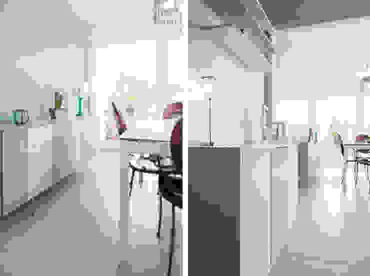 Appartement à Caluire Cuisine moderne par Marion Lanoë Architecte d'Intérieur Moderne