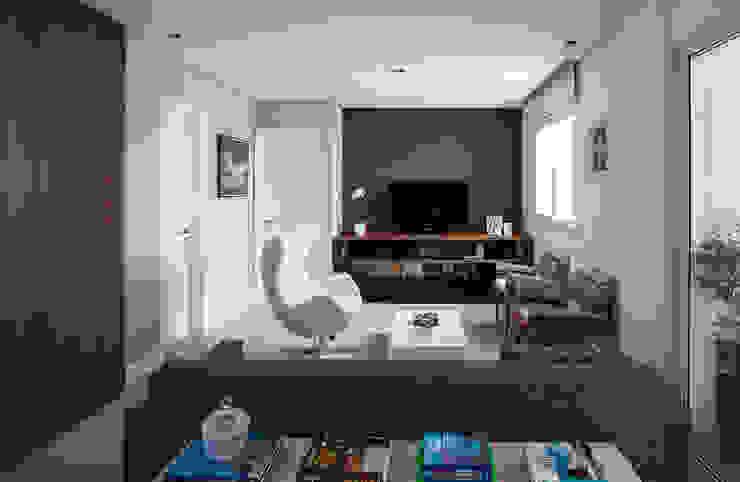 Sala de estar / Home-theater Salas de estar modernas por Decorare Studio de Arquitetura Moderno