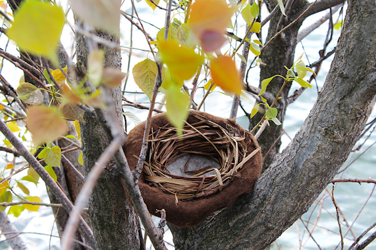 Nest for Easter eggs. Step by step di Judith Byberg Rustico