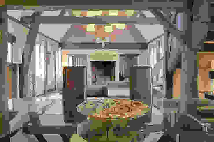 Maison de campagne revisitée - Marines 95 Maisons classiques par Katia Rocchia Home Designer Classique