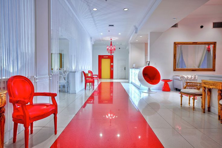 Red South Beach Hotel - Miami Beach - FL ∙ USA Moderne Hotels von trend group Modern