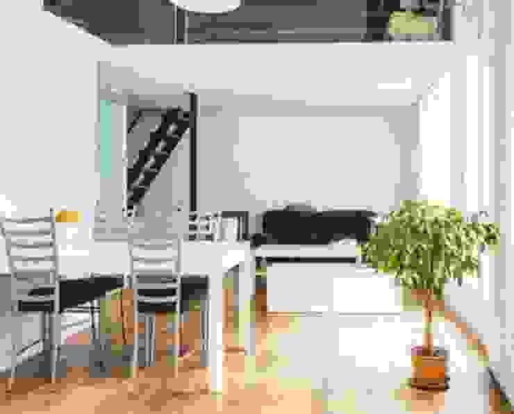 Apartamento en Madrid Río Casas de Space Maker Studio