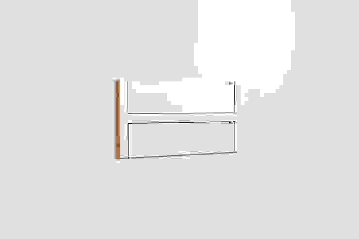 Fläpps Shelf 80x40x2 – White par AMBIVALENZ Minimaliste Contreplaqué
