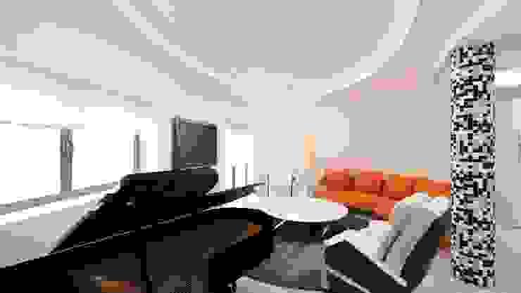 Vivienda en Paseo de Gracia Casas de estilo moderno de Space Maker Studio Moderno