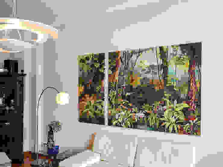 Eine Lithografie wird groß von delitz Tropisch