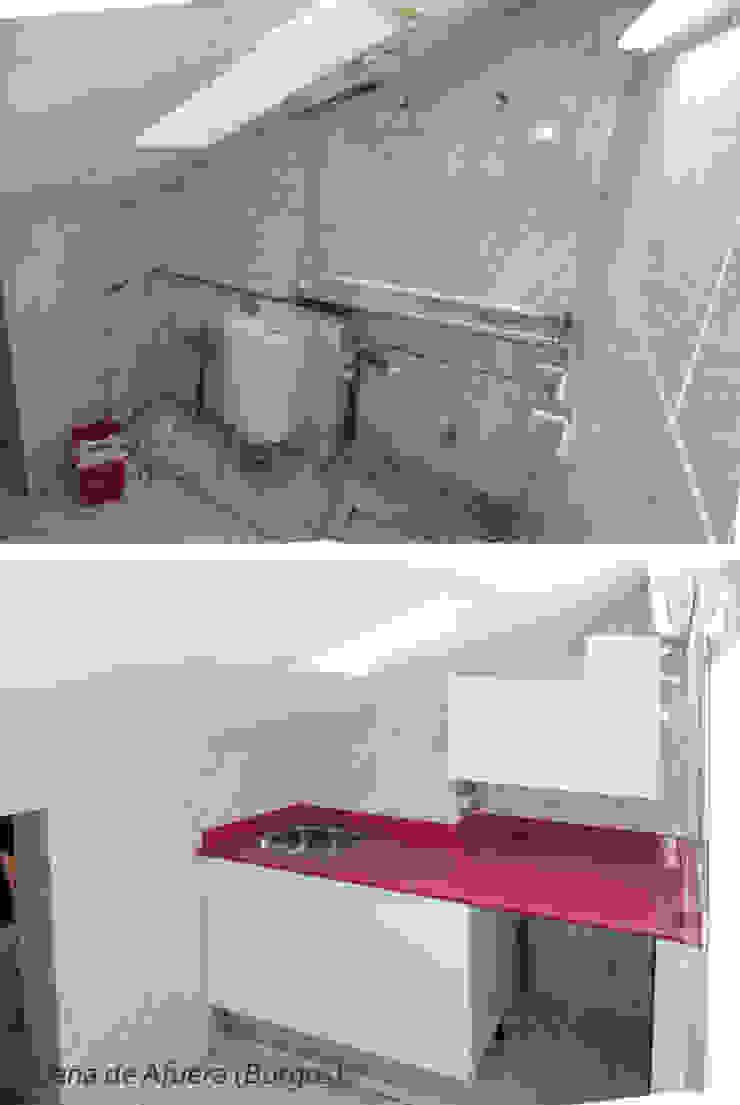 Obras de reforma en viviendas. de DIEZJOTA arquitectos Moderno