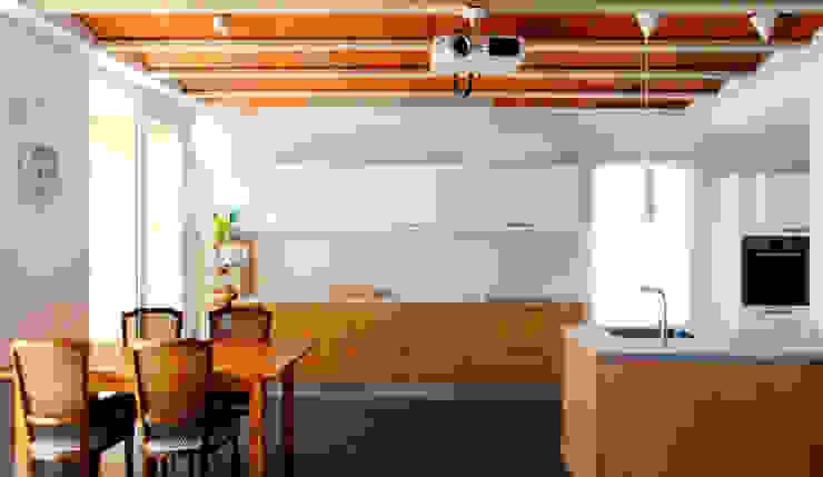 Projekty,  Jadalnia zaprojektowane przez NUA Arquitectures, Nowoczesny