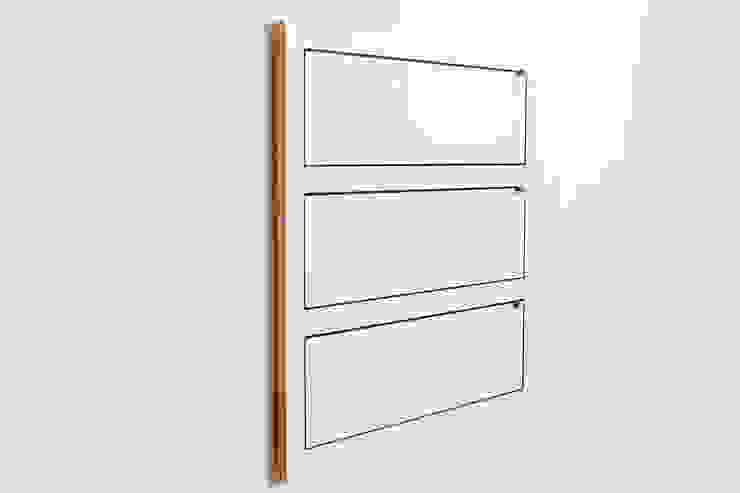 Fläpps Shelf 80x80x3 – White par AMBIVALENZ Minimaliste Contreplaqué