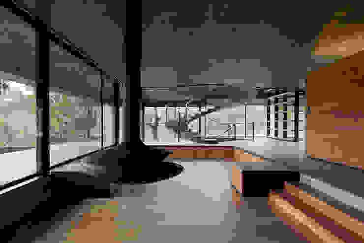 Duas casas em Monção Salas de estar modernas por JPL Arquitecto Moderno