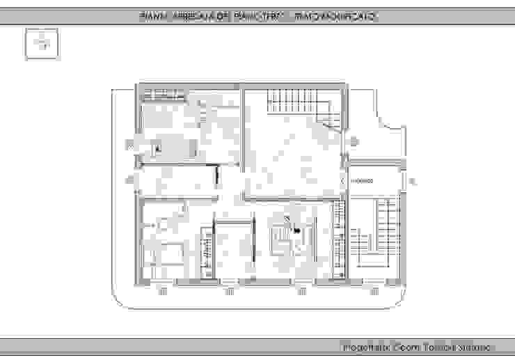 Sopraelevazione edificio residenziale di Geom. Stefano Feliziani Moderno